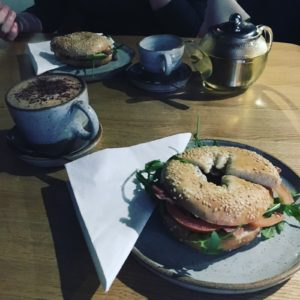 Bagels, Mochas and Turkish Apple Tea at Cow&Co Liverpool