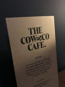 Cow & Co Menu