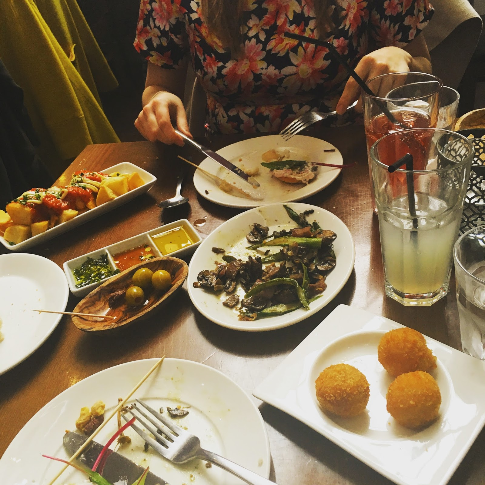 Weekend brunch at Lunya Tapas, Liverpool