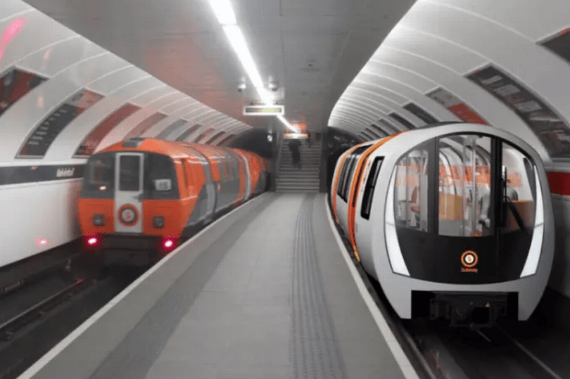 Glasgow Driverless Trains